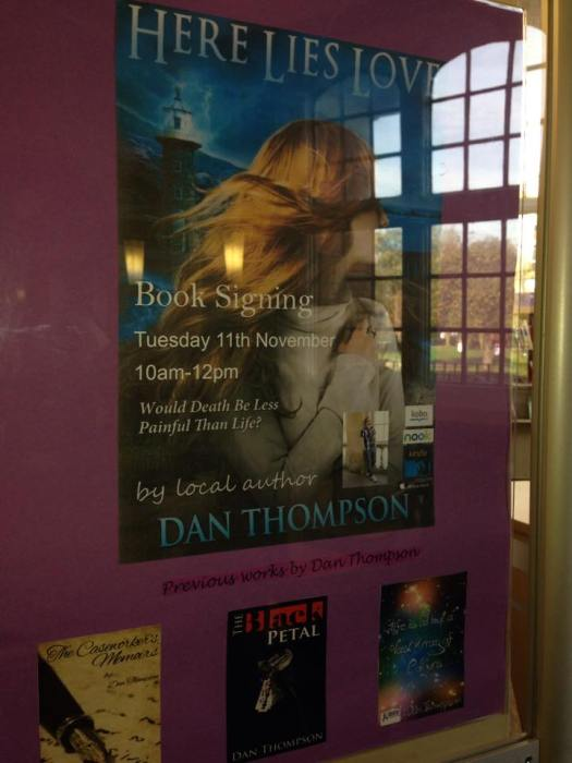 GL book signing